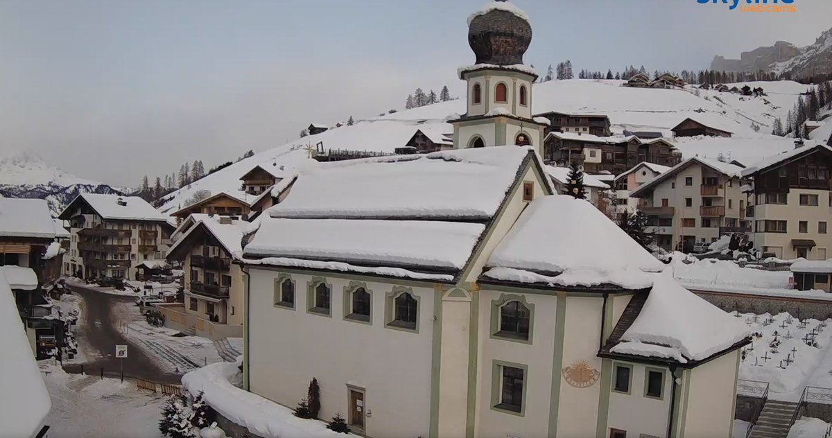 San Cassiano. Dolomites.  Just Live webcaming around...what a neat mountain village  : ))