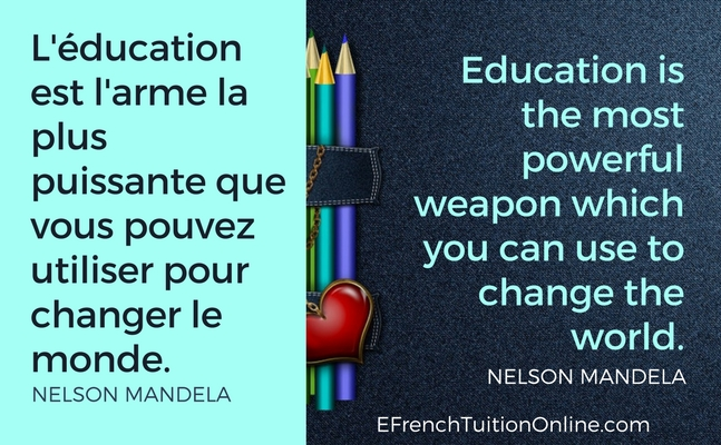 #Quote:  #Education is the most powerful weapon which you can use to change the world. - Nelson Mandela  L'éducation est l'arme la plus puissante que vous pouvez utiliser....  #quoteforlife #lifelessons #inspiration #SundayMotivation #ThinkBIGSundayWithMarsha #Weekendinspiration