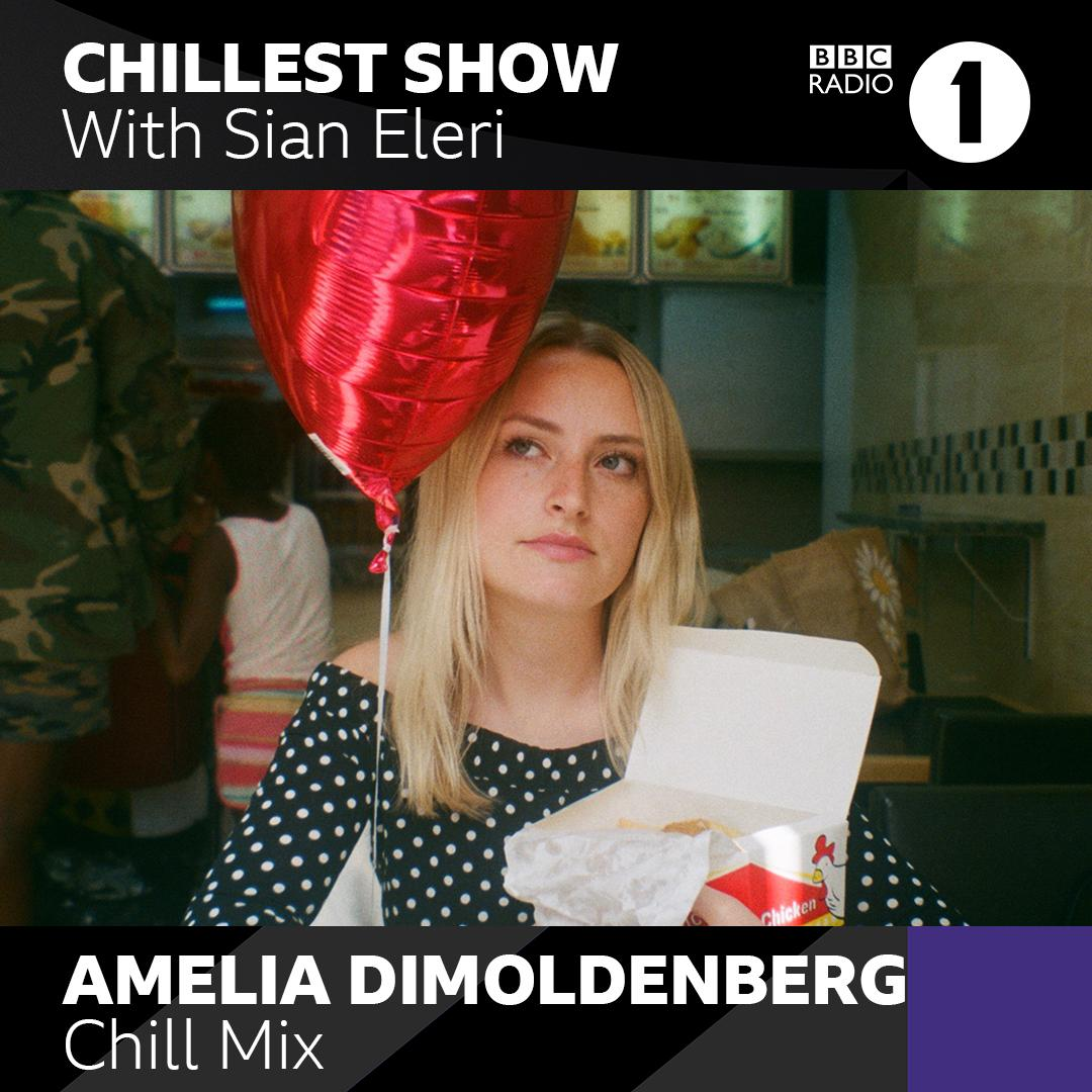 tonight on @BBCR1!  got the golden nugget @ameliadimz treating us to 30 mins of downbeat tracks in the Chill Mix 🌊  And this week's Chillest Record courtesy of @ItsReubenJames 🪐  Come join over on the Chillest Show 7-9pm!