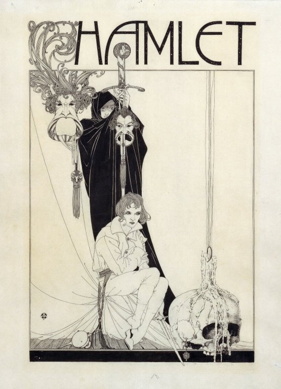 John Austen's Haunting Illustrations of Shakespeare's Hamlet: A Masterpiece of the Aesthetic Movement (1922)  via @openculture #ShakespeareSunday