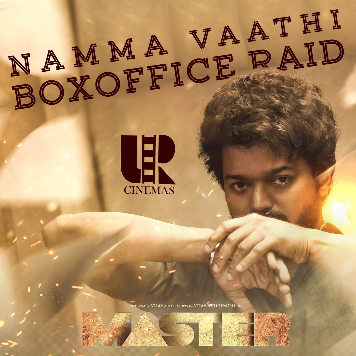 52/52 housefull shows for first 5 days of #MasterPongal This is what you call as a Monstrous opening 🔥 #Thalapathy shattering records for fun 💥 Annan vandha atom bomb'u Dummu 💣 Congratulations on the massive success @XBFilmCreators @Lalit_SevenScr @Jagadishbliss 🙏🏽 #VaathiRaid