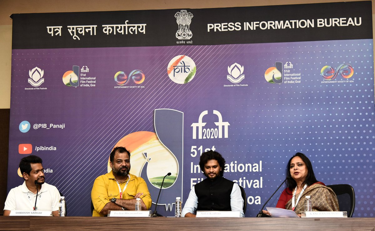 "The flagship Indian Panorama section inaugurated at #IFFI51 in Goa  🎬""Saand Ki Aankh"" screened as opening feature film  🎬Gujarati film ""Paanchika"" opens non-feature film section  👉"