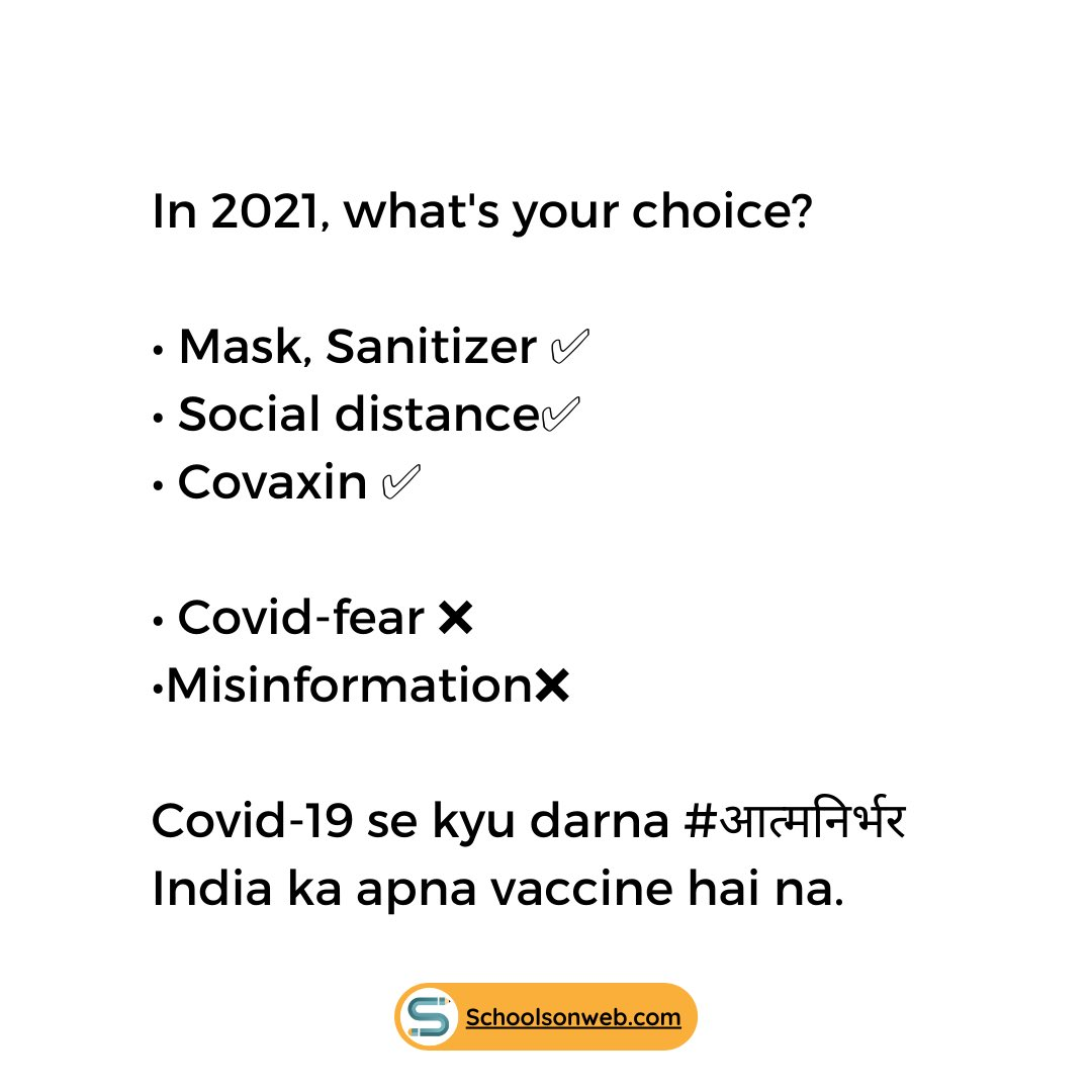 Vaccination is building immunity from the inside. This new year, Covaxin brings us new hope. Let's band together with our corona warriors and beat this pandemic together!  💪🏽🙏🏻  #covid_19 #vaccine #vaccination #india #trending #health #who #education #students #pandemic #corona