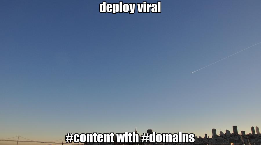 deploy viral #content with #domains  💰 #biden #trump Buy #domain