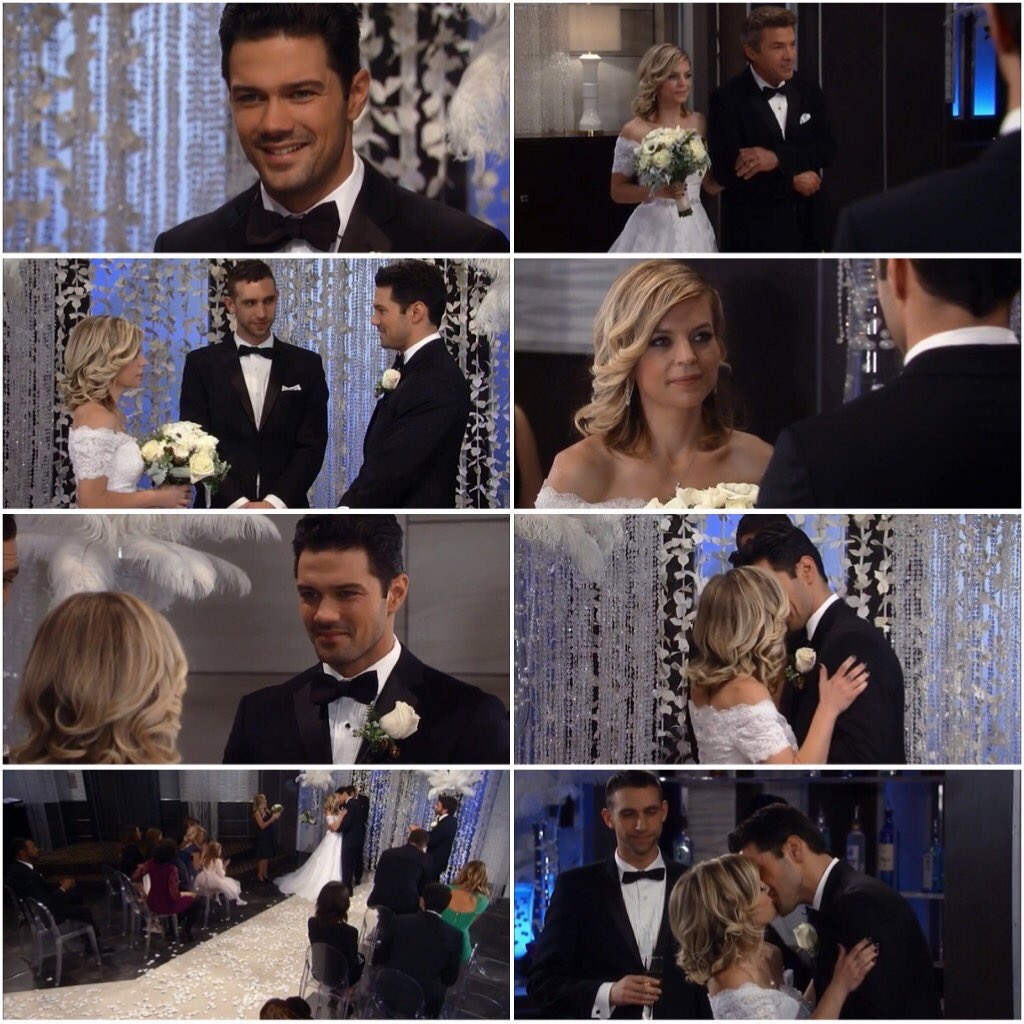 😭😍❤👑 #Naxie #GH RT@Port_Charles1: #OnThisDay in 2017, Nathan and Maxie got married #Naxie #GH #GeneralHospital