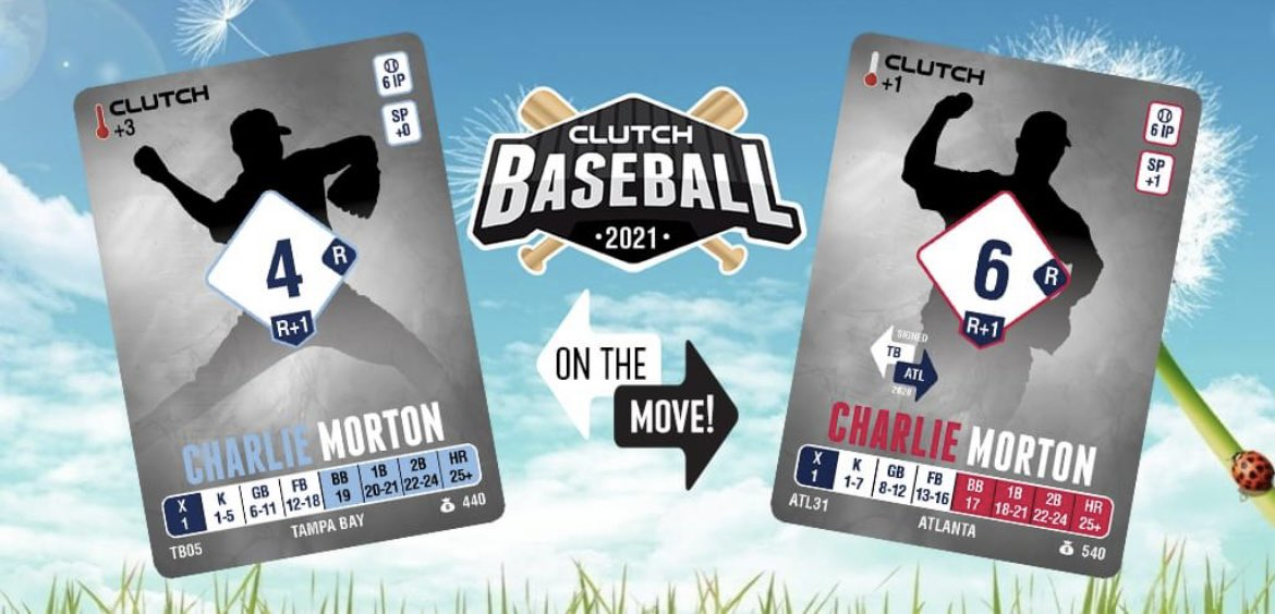 Our next expansion also features a second starting pitcher moving on.  Tampa Bay declined the $15 million dollar option on Charlie Morton's contract and he promptly went and got that exact same deal from Atlanta!  Will it be HOTlanta or NOTlanta in 2021? https://t.co/CgwbdQ9lkS