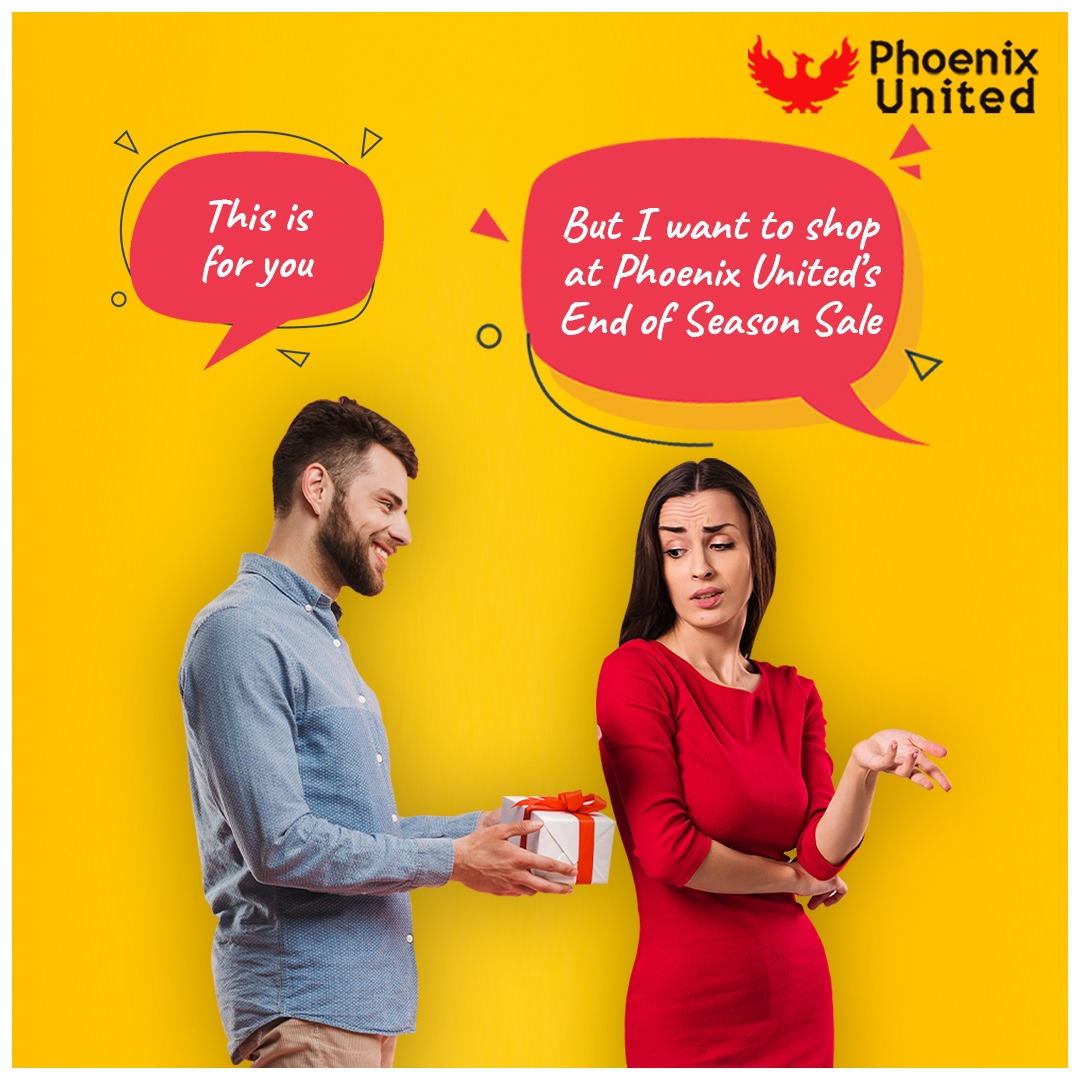 That's what steal worthy deals at End of Season Sale, #EOSS at Phoenix United does to fashion freaks! #EndOfSeasonSale #EOSSAtPhoenix #PhoenixUnitedBareilly