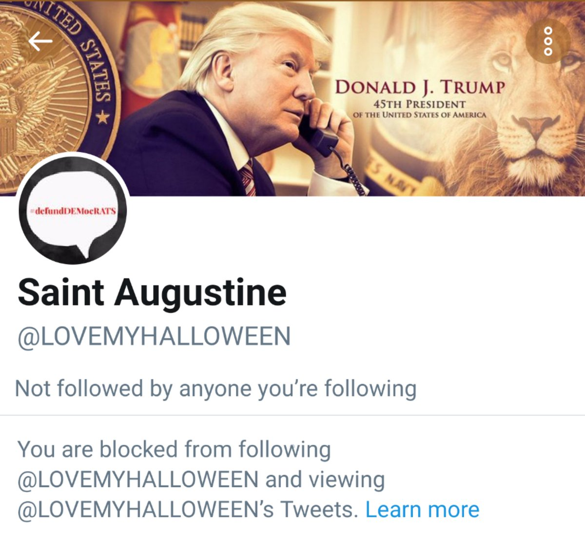 Coward responds to my Tweet and then blocks me. But look how dumb -- they're still looking forward to an election long lost. #Deplorable #coward #TrumpCult #TrumpLost #ByeDon