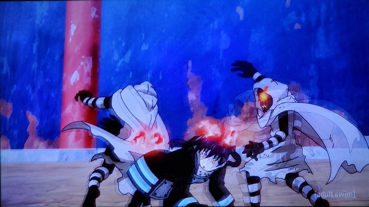 .@jadbsaxton The Fire Company had no other choice but to defeat Tempe or the entire forest will perished into a living hell just like what the hell happened in Midgar from FFVII💥🔥We're on episode 33 on #Toonami next week #FireForce 🔥🚒