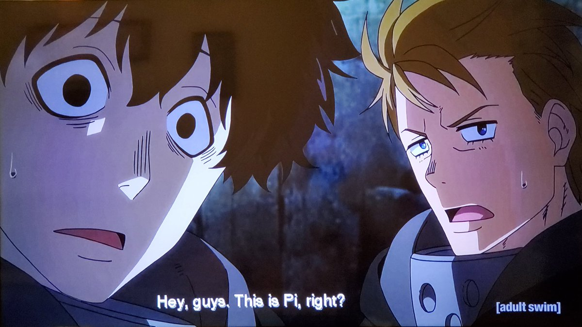 .@iantweeting The Fire Company had no other choice but to defeat Tempe or the entire forest will perished into a living hell just like what the hell happened in Midgar from FFVII💥🔥We're on episode 33 on #Toonami next week #FireForce 🔥🚒