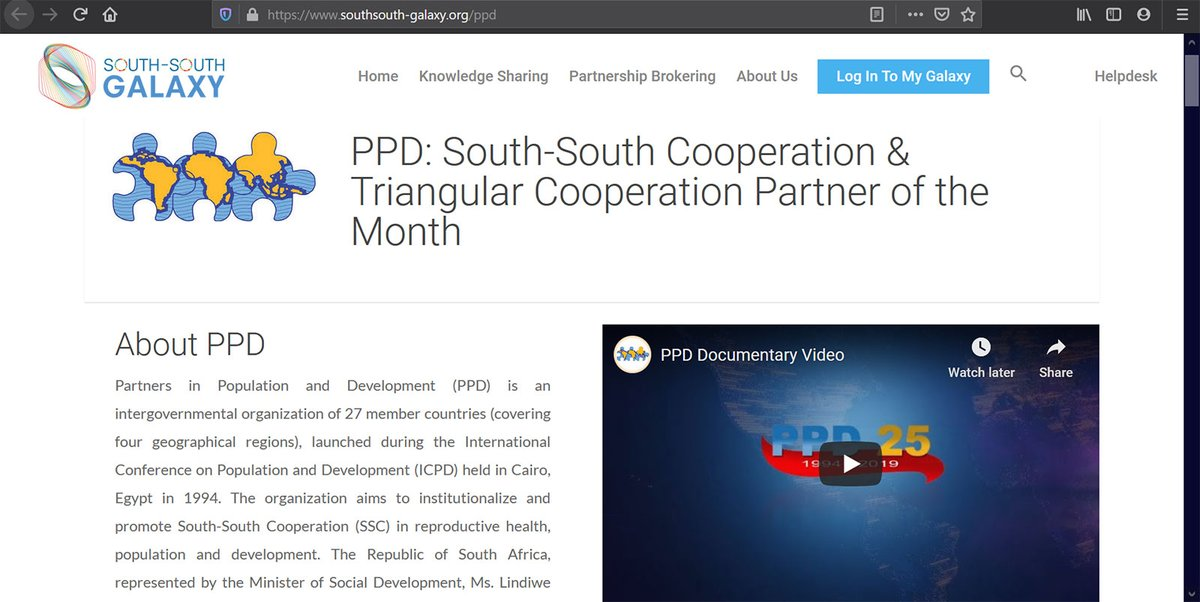 PPD is featuring by South-South Galaxy as the partner of the month (POM) for January 2021 (from 15 Jan to 14 Feb)  https://t.co/oiBvy0toBV https://t.co/gqElkFEQfc