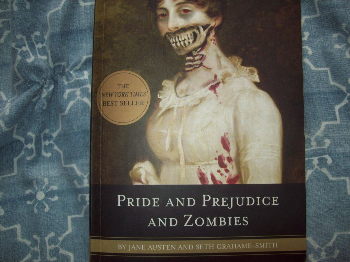 """#BookRecommendations   Nominated by @flowerboxorguk   Just because I can! 😁  """"It is a truth universally acknowledged that a zombie in possession of brains must be in want of more brains."""" 🧟♀️❤️"""
