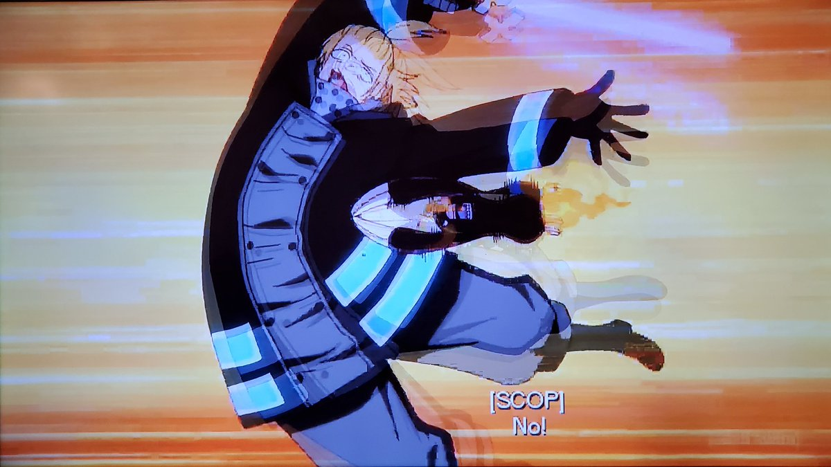 .@monkeyshines9 The Fire Company had no other choice but to defeat Tempe or the entire forest will perished into a living hell just like what the hell happened in Midgar from FFVII💥🔥We're on episode 33 on #Toonami next week #FireForce 🔥🚒