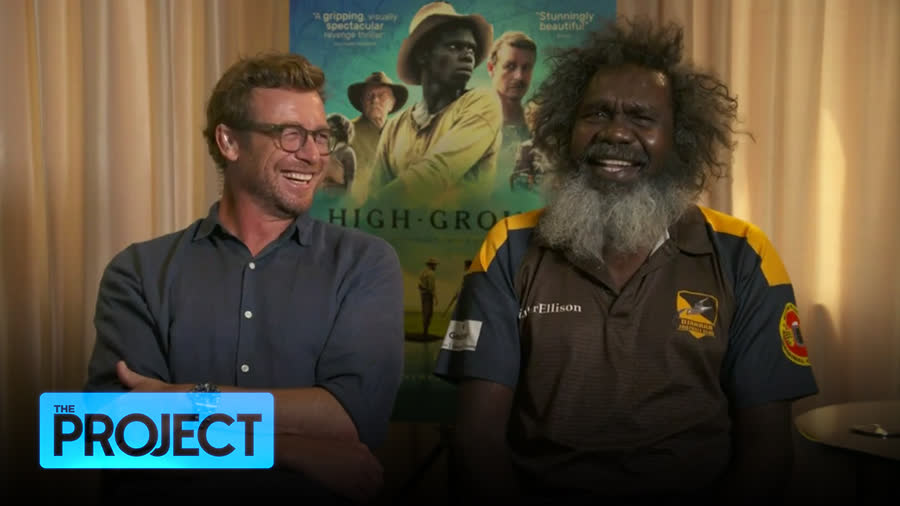 """.@theprojecttv caught up with Simon Baker and Witiyana Marika about #HighGroundFilm """"the beautiful, yet deeply confronting story, and why it's been 20 years in the making."""""""
