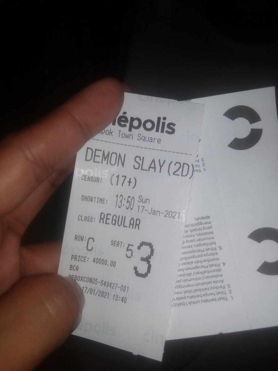 #DemonSlayer #DemonSlayertheMovieMugenTrain  Sejujurnya gue kurang tertarik sama anime,film Disney aja gue jarang nonton 😂 Tdi iseng keluar cb nonton,eh filmnya bagus,suka pas adegan mimpi, ngalir aja gitu ada lucu,sedih gemes ❤️ Ending edan 8/10