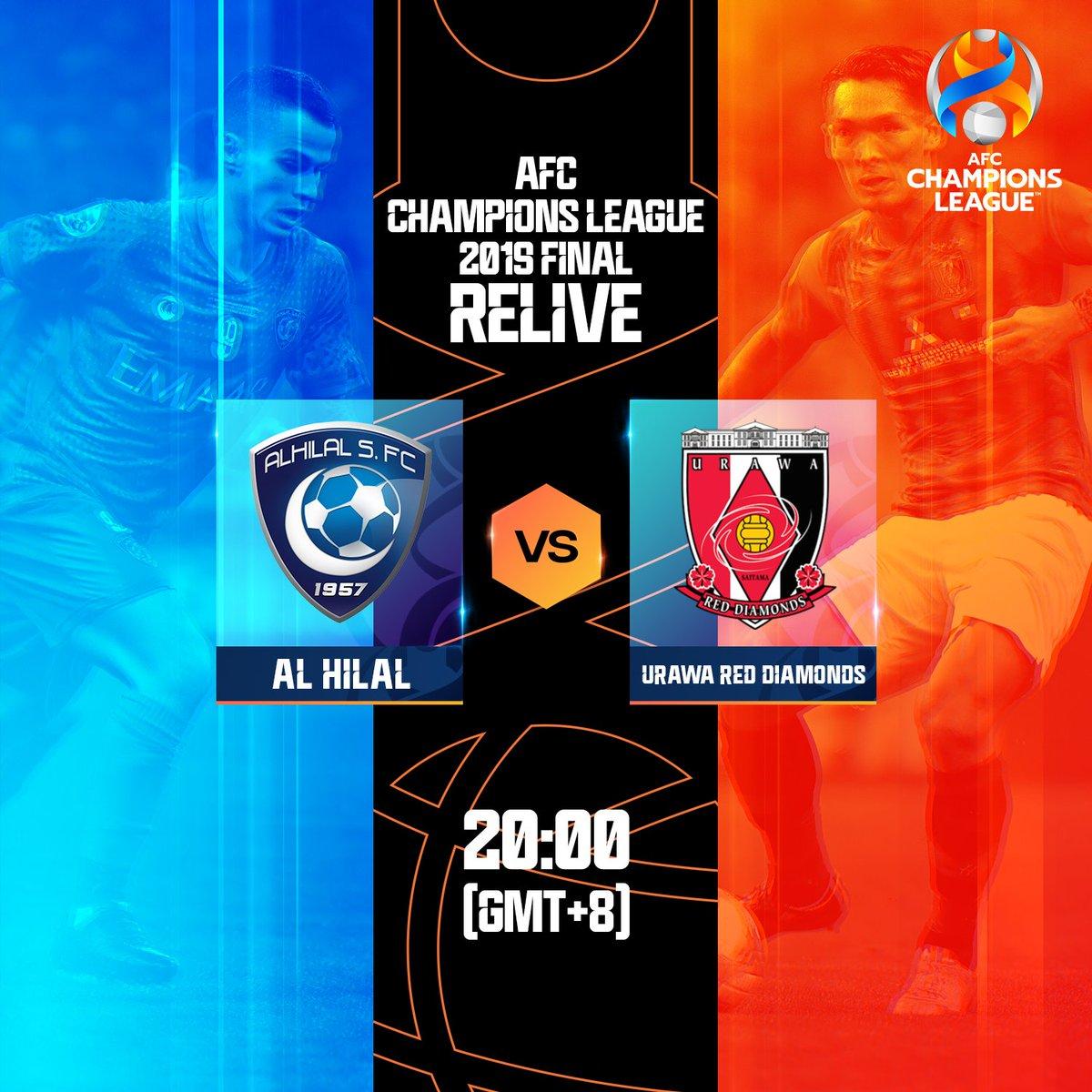 📺 ACL Final 2019 Relive   🇯🇵 Urawa Red Diamonds 🆚 Al Hilal 🇸🇦 ⏰ 20:00 (GMT+8) 📱Watch: