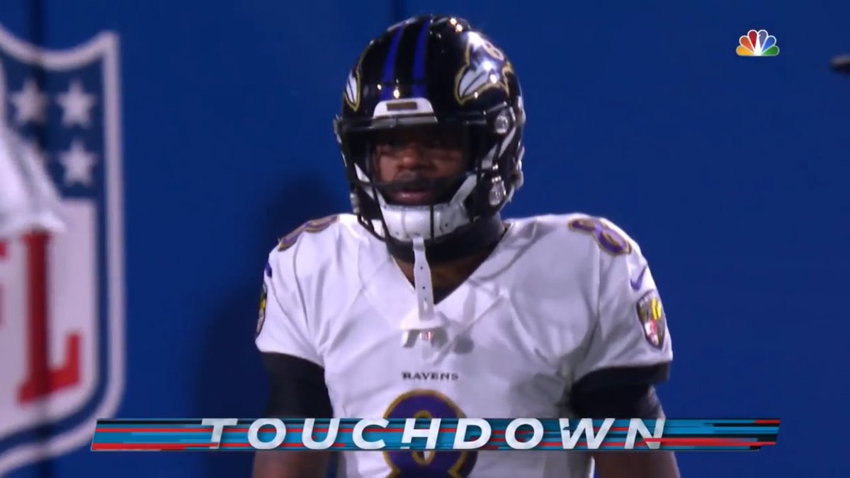 Lamar's only TD of the game....pick six #BALvsBUF #BillsMafia #NFLDivisional #DivisionalRound