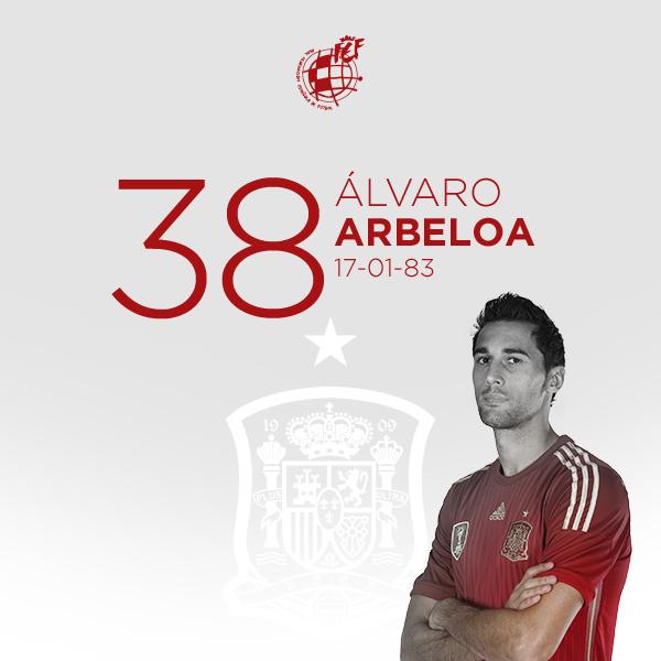 🎂 ¡¡Feliz cumpleaños, @aarbeloa17!!  El internacional campeón del mundo y doble campeón de Europa con la @SeFutbol cumple 3⃣8⃣ años.  🥳 ¡¡MUCHAS FELICIDADES!!