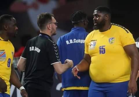 Handball World Cup - 17-01-2021:  DR Congo vs Denmark 🇩🇰🇨🇩🤪 https://t.co/qvQFuvRcJG
