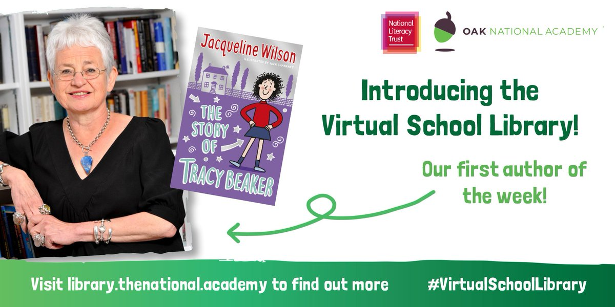 Take a look at the recently launched #VirtualSchoolLibrary 📚    @Literacy_Trust
