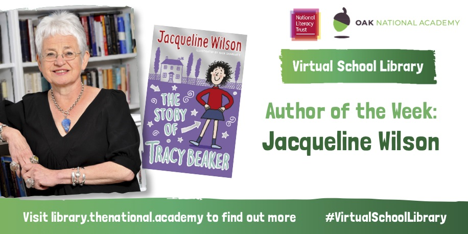 We're delighted to launch our new-look #VirtualSchoolLibrary with @OakNational today, which will provide children with books while learning at home. Read The Story of Tracy Beaker for FREE and watch an exclusive video with Jacqueline Wilson @FansofJWilson