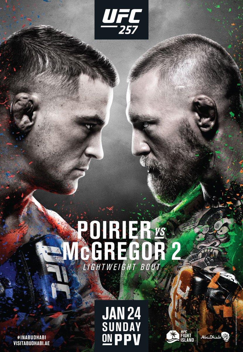 いよいよ来週 #UFC257