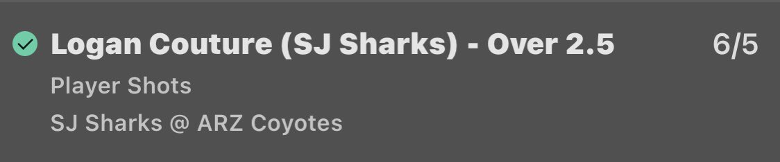 Not the best night for us last night but we did manage to have two singles come in 2/5 we can live with that, let's get stuck into tonight's research #ALLCAPS #LetsGoPens #FLAPAnthers #Blackhawks