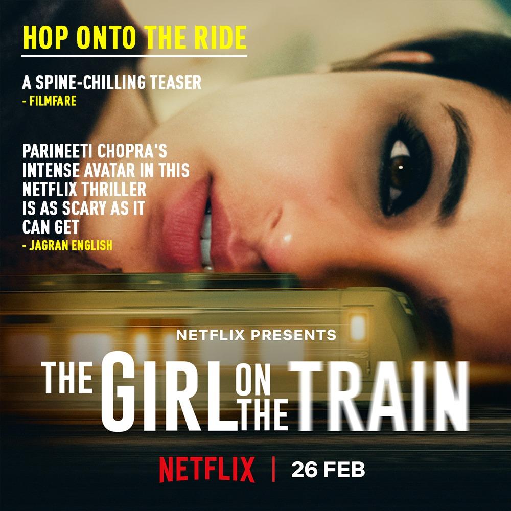 On its way to people's hearts! #TGOTT premieres 26th Feb, only on Netflix.    @ParineetiChopra @aditiraohydari @IamKirtiKulhari @avinashtiw85 @tota_rc @SHAMAUN@ribhudasgupta @Shibasishsarkar @amblin @ZeeMusicCompany @NetflixIndia