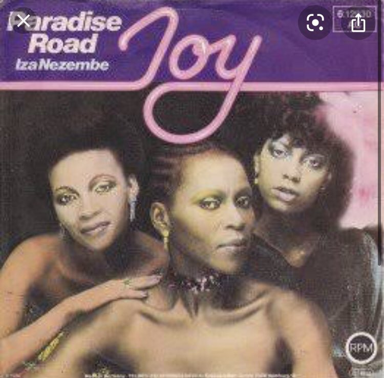 We would like to send our condolences to the family of Mama Thoko Ndlozi a member of the legendary trio called Joy , we sang one of their hits Paradise Road. May her soul rest in eternal peace 💐🕊❤️