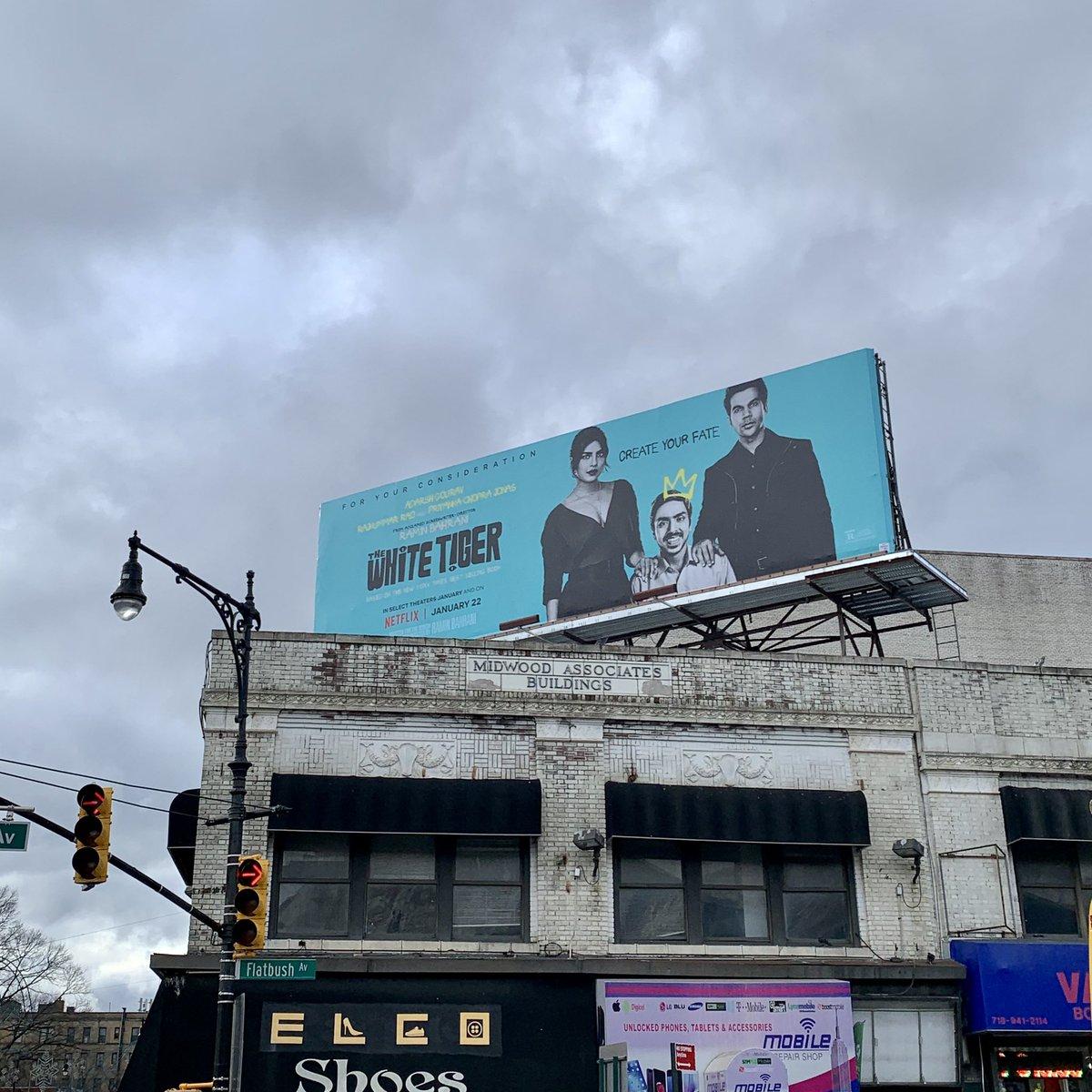 Found in #Brooklyn. Representation matters @netflix @NetflixIndia @priyankachopra @RajkummarRao @_GouravAdarsh