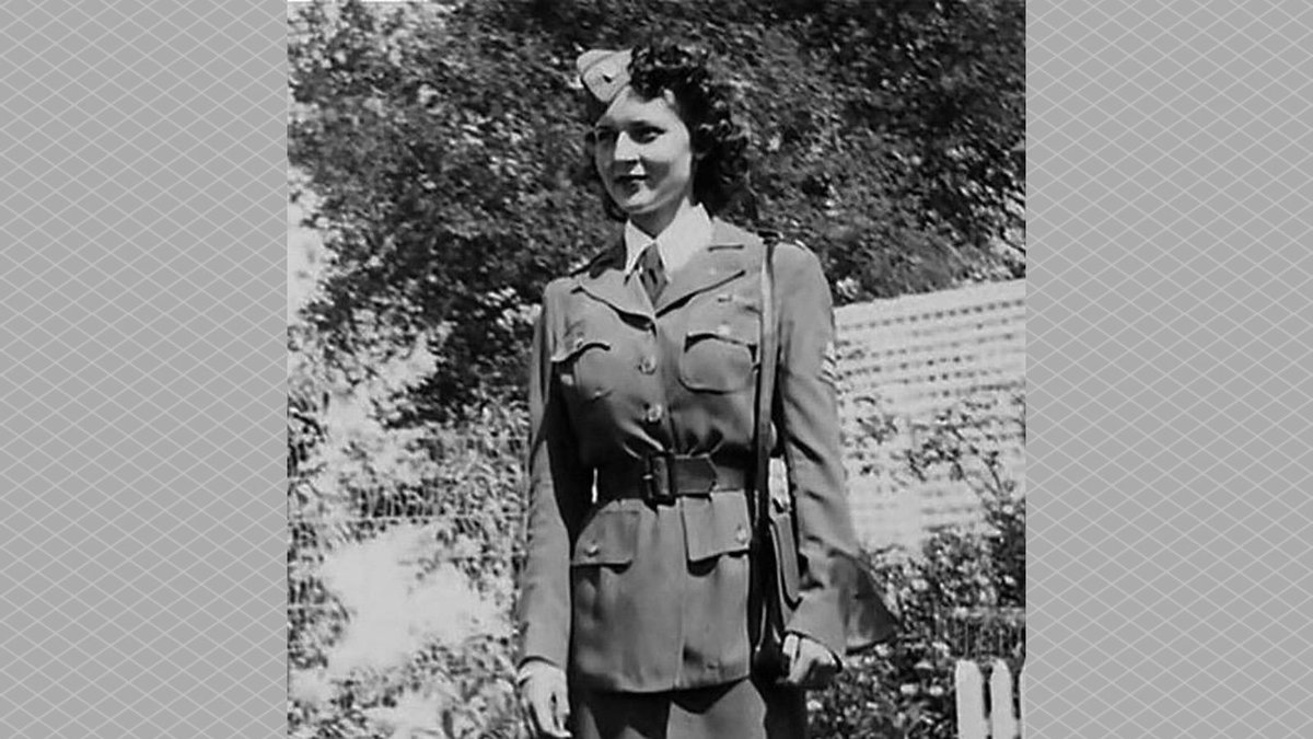 Happy 99th birthday to Betty White! Prior to becoming the First Lady of Television, Betty drove a supply truck while serving in the American Women's Voluntary Services during WWII. #HappyBirthdayBettyWhite
