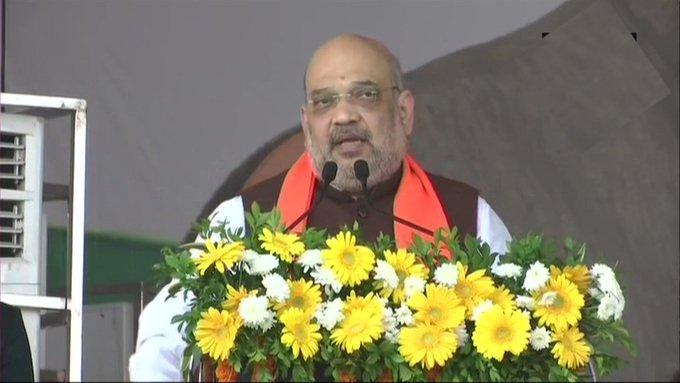 जब @INCIndia सत्ता में थी तब 2013-14 में कृषि बजट 21,933 करोड़ रुपये का था। मोदी जी ने 2020-21 में कृषि बजट बढ़ाकर 1,34,399 करोड़ रुपये कर दिया: कर्नाटक के बेलगावी में गृह मंत्री @AmitShah  #FasalBima4SafalKisan  #SKU  @sunilbansalbjp