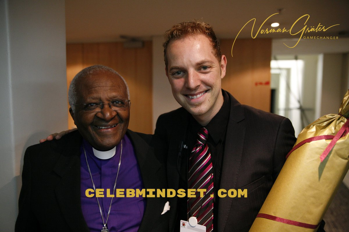 Do you ever dream of winning a Nobel Peace Prize like Desmond Tutu with the vision you have for your business or life? Then think like a winner. Get your celebrity mindset now and visit   #nobelpeaceprize #desmondtutu #celebmindset #winner #vision #change