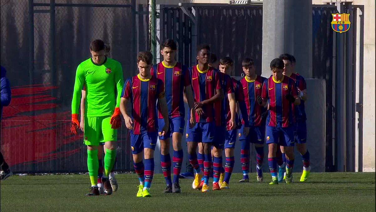 🎥 HIGHLIGHTS   💪 Així va ser la golejada del Juvenil A davant l''Europa (5-0)  💪 El resumen de la goleada del Juvenil A ante el Europa  #ForçaBarça 💙❤️
