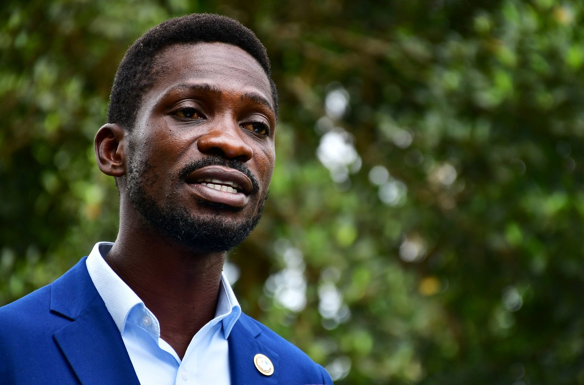 Bobi Wine to legally contest Uganda vote, urges non-violence