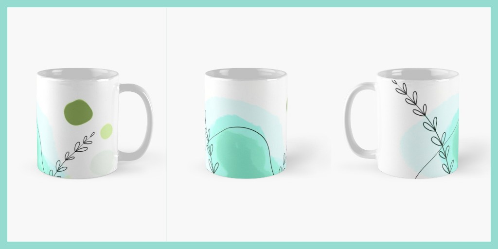 Looove these mugs a lot😍 Do you? #mug #mugs #abstractart #lovelycolors #breakfast #teatime #objects #decoration #tazze #colazione #drink #Coffee #coffeetime #break #Stylish #naturalstyle #pausa #redbubbleartist #redbubbleshop #italianartist #morningvibes