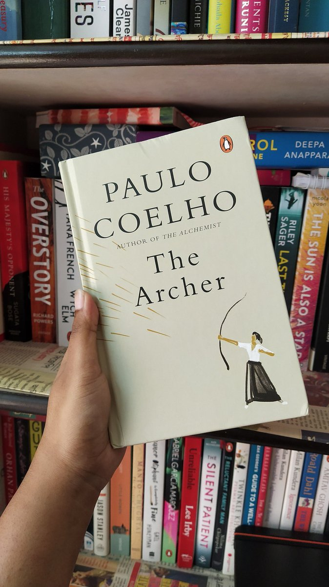 The first book I finished in 2021.  The Archer by @paulocoelho is a remarkable one with valuable life lessons in the imagery of archery. For complete review click here    #books #BookReview #BookRecommendations #TheArcher #BookTwitter #booklovers