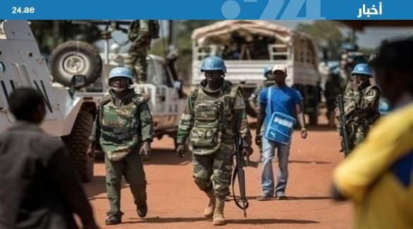 القبعات الزرق تستعيد السيطرة على مدينة احتلها مسلحون في #إفريقيا #الوسطى