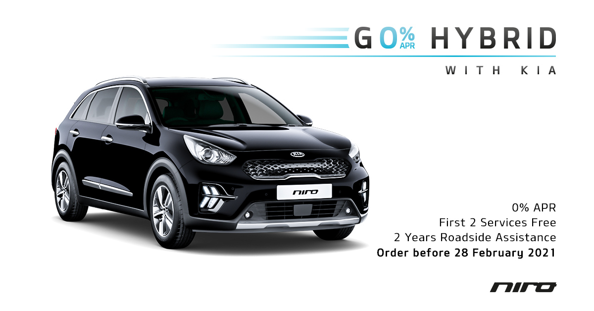 Go #Hybrid with the #KiaNiro before 28th Feb and not only will you get the best of both worlds, you'll also be treated to: ⭐ 2 free services ⭐ 2 years roadside assistance ⭐ 0% APR  What's holding you back? Find out more:  #Chippenham #Kia #Wiltshire