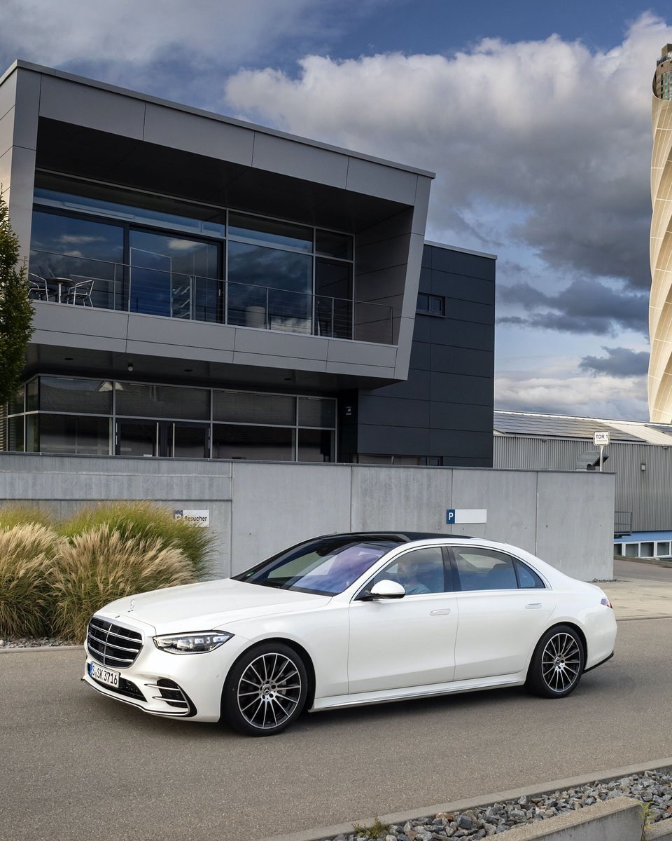Like a boss! Treat yourself to the CEO experience in the all-new Mercedes-Benz S-Class.  Learn more about the all new S-Class:  #Mercedesbenz #Sclass #NewSclass