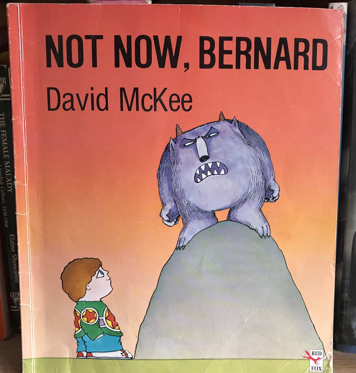 Day 5/7 of #BookRecommendations nominated by @MinxyOwl is Not Now Bernard by David McKee.