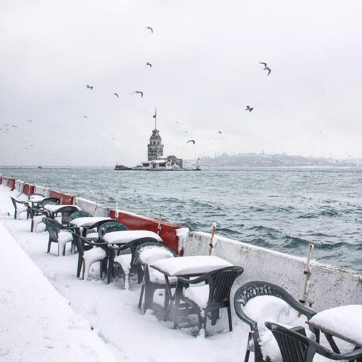 Kar en çokta sana yakışıyor #İstanbul.