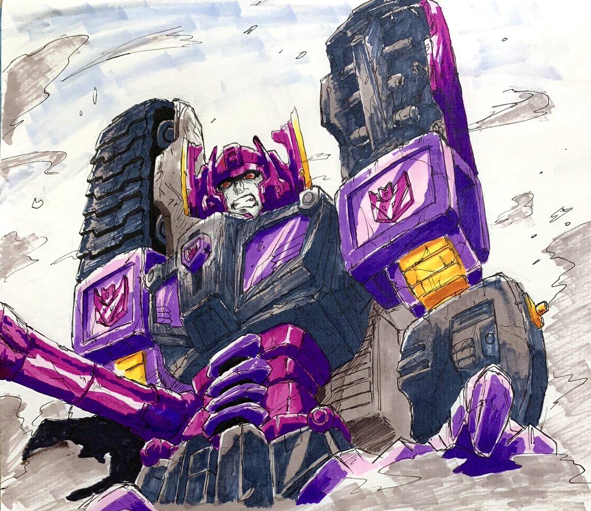 頭の色間違えたけどマイクロン伝説のメガトロン  #俺のダメージフェチを見せてやる #トランスフォーマー #transformers #マイクロン伝説 #ARMADA #メガトロン #Megatron #イラスト #絵描きさんと繋がりたい #イラスト好きな人と繋がりたい