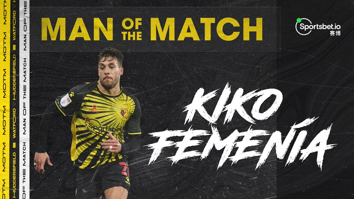 🥇 You voted Kiko Femenía as your @Sportsbetio Man of the Match yesterday!  Is he your Player of the Season so far?