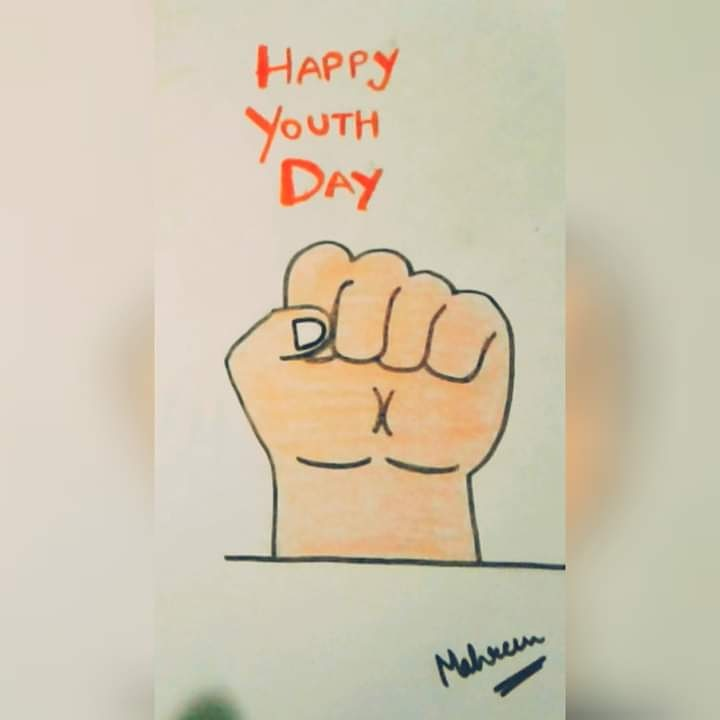 Youth Day Drawing|| Youth Day Poster||NATIONAL YOUTH DAY||   #nationalyouthday #youthday #swamivivekanandaji #youthday2021 #happyyouthday #drawing #youthdayposter
