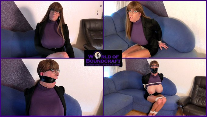 Today's next #selfbondage update! 'a captivating Interview' is now on sale on https://t.co/tvw7fT616S