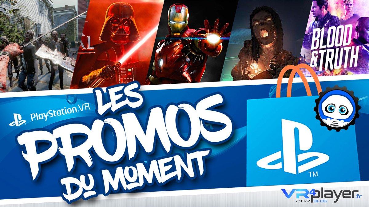 #PlayStationVR #PSVR #PS5 @PlayStationFR #promo #soldes #games PlayStation VR : Ça sent le sapin avec ces promos PlayStation