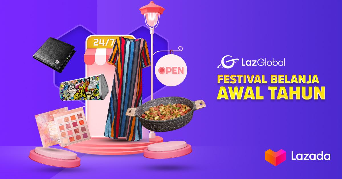 Apapun yang Lazadians cari semuanya ada di Festival Belanja Awal Tahun yang lagi punya promo menarik yaitu diskon 90% & ekstra voucher 20! Apalagi coba yang kurang? Langsung cek link berikut ya:    #YakinDariHati #LazadaID