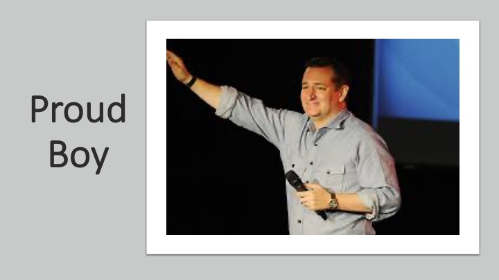 A leader of the Sedition Caucas who forget his oath of office.  #TedCruzResign #SeditionHasConsequences