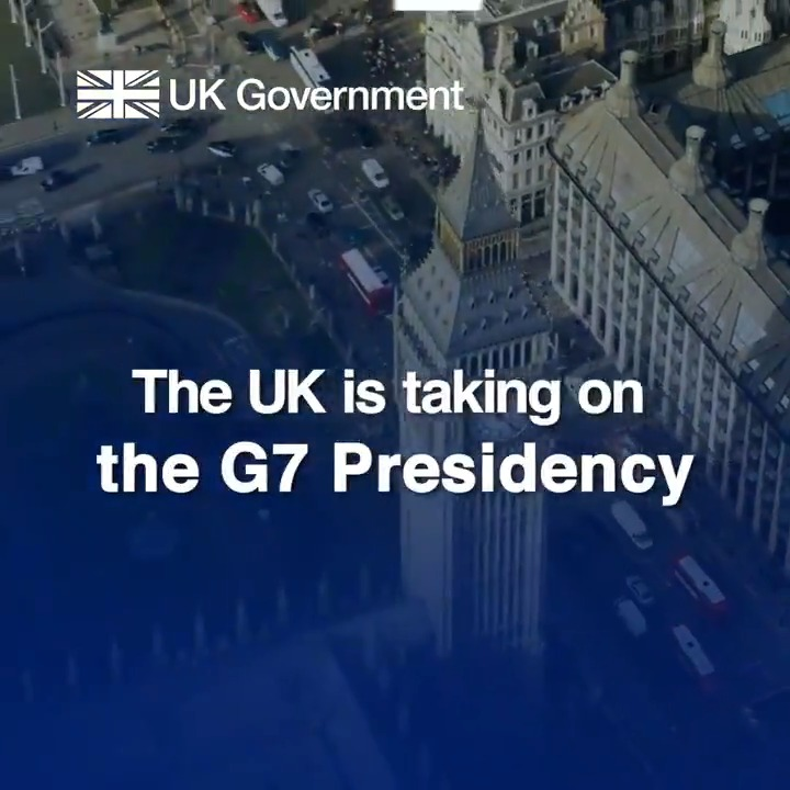 💉 Leading the global fight and sustainable recovery from coronavirus 🌍 Agreeing bold action to tackle climate change 📈 Promoting free and fair trade 🤝 Championing our shared values as open societies   These are the UK priorities as we take on the presidency of the @G7 https://t.co/O9ZdiX1Jdu